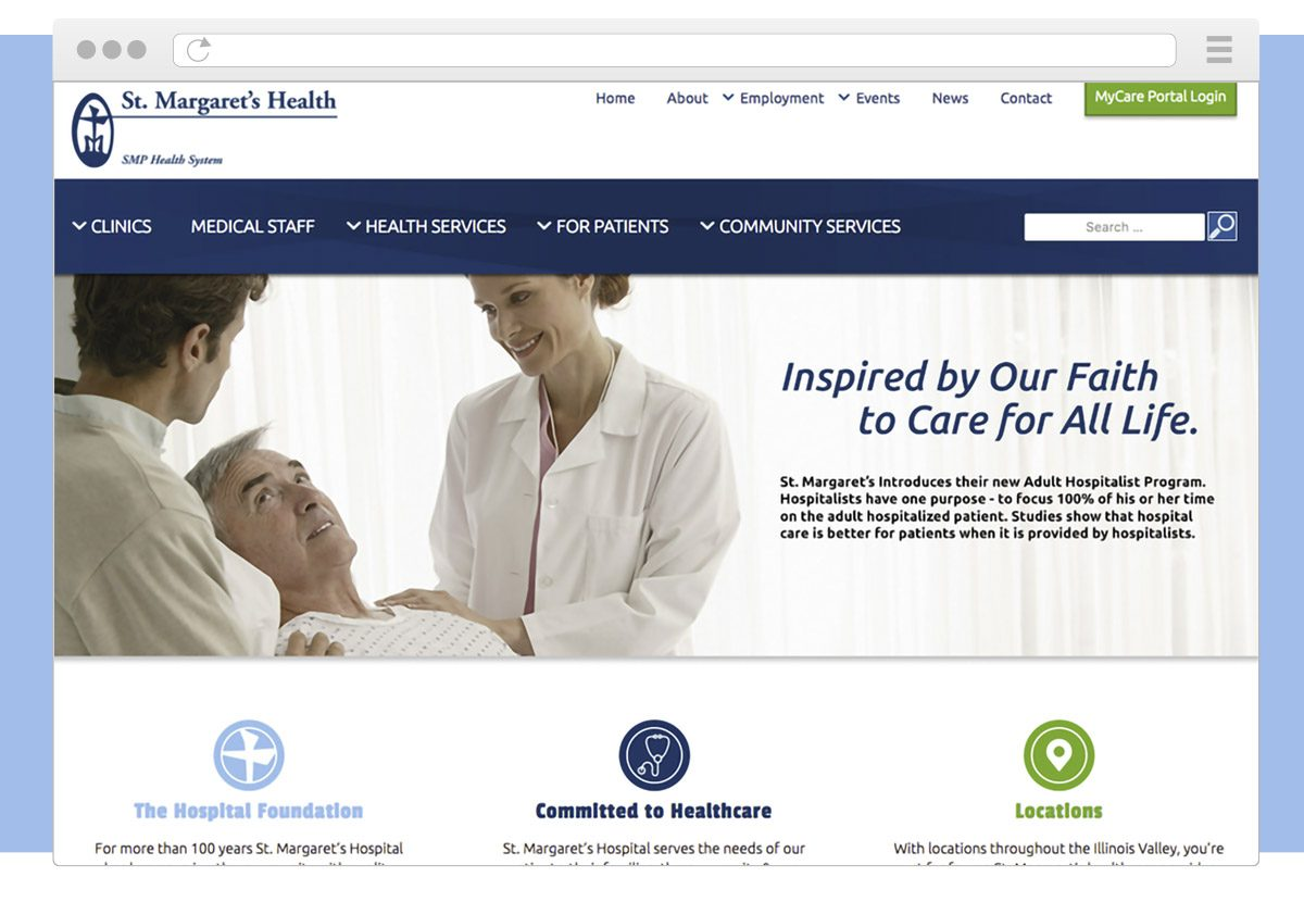 St. Margaret's Health System Website