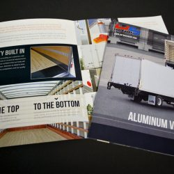US Truck Brochures Inside Spreads
