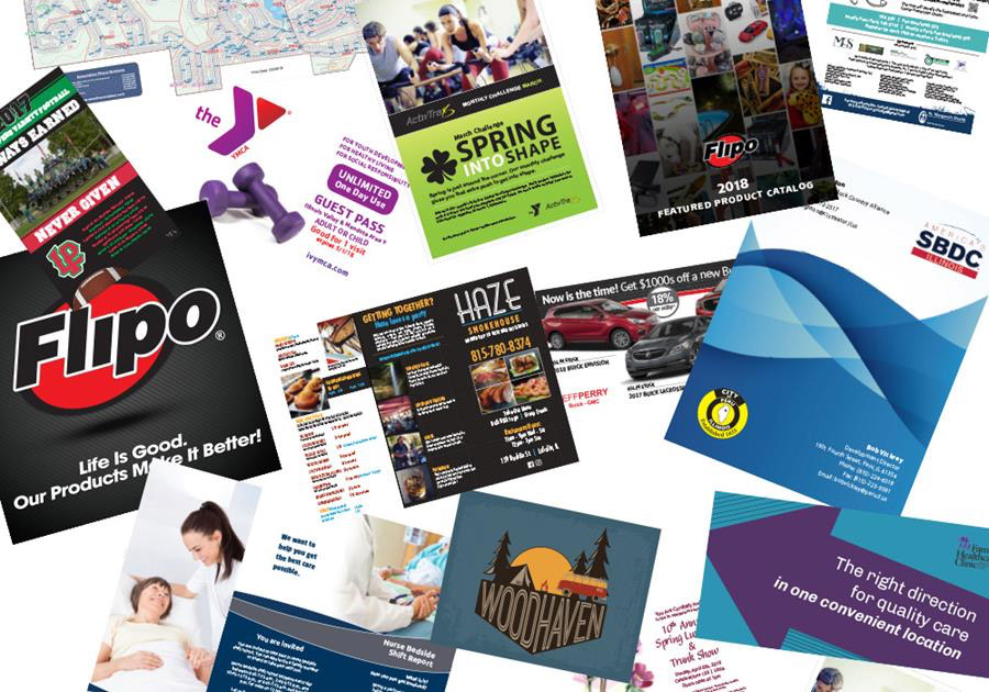 Mailers, magazines and post cards, oh my!